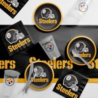 NFL Pittsburgh Steelers 56-Piece Complete Tailgate Party Kit