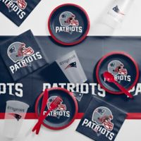 NFL New England Patriots 56-Piece Complete Tailgate Party Kit