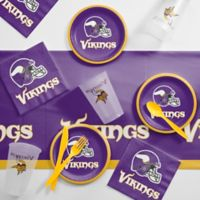 NFL Minnesota Vikings 56-Piece Complete Tailgate Party Kit