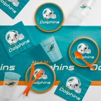NFL Miami Dolphins 56-Piece Complete Tailgate Party Kit
