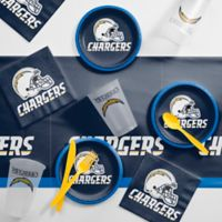 NFL Los Angeles Chargers 56-Piece Complete Tailgate Party Kit