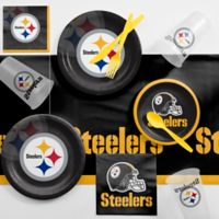 NFL Pittsburgh Steelers 81-Piece Complete Tailgate Party Kit