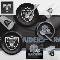 NFL Oakland Raiders 81-Piece Complete Tailgate Party Kit