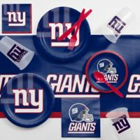 NFL New York Giants 81-Piece Complete Tailgate Party Kit