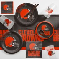 NFL Cleveland Browns 81-Piece Complete Tailgate Party Kit