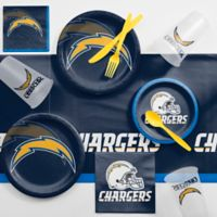NFL Los Angeles Chargers 81-Piece Complete Tailgate Party Kit