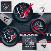 NFL Houston Texans 81-Piece Complete Tailgate Party Kit