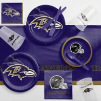 NFL Baltimore Ravens 81-Piece Complete Tailgate Party Kit