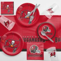 NFL Tampa Bay Buccaneers 81-Piece Complete Tailgate Party Kit