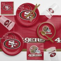 NFL San Francisco 49ers 81-Piece Complete Tailgate Party Kit