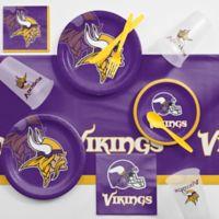 NFL Minnesota Vikings 81-Piece Complete Tailgate Party Kit