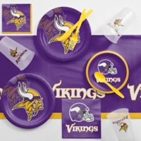 NFL Minnesota Vikings 81-Piece Complete Tailgate Party Kit