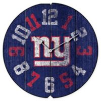 NFL New York Giants Vintage Round Wall Clock