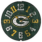 NFL Green Bay Packers Vintage Round Wall Clock