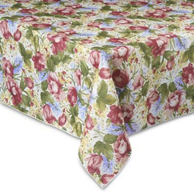 buy round summer tablecloth from bed bath & beyond