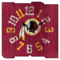 NFL Washington Redskins Vintage Square Wall Clock