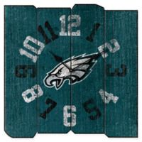 NFL Philadelphia Eagles Vintage Square Wall Clock