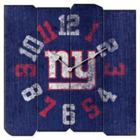 NFL New York Giants Vintage Square Wall Clock