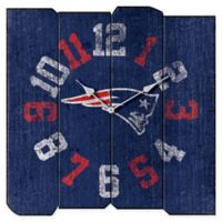 NFL New England Patriots Vintage Square Wall Clock