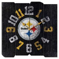 NFL Pittsburgh Steelers Vintage Square Wall Clock