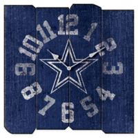 NFL Dallas Cowboys Vintage Square Wall Clock