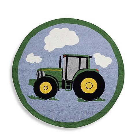 John Deere Tractor Rug