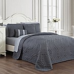 Avondale Manor Nolie Queen Quilt Set in Grey