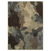 Oriental Weavers Evolution Abstract 5-Foot 3-Inch x 7-Foot 3-Inch Area Rug in Blue