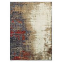 Oriental Weavers Evolution Abstract 5-Foot 3-Inch x 7-Foot 3-Inch Area Rug in Ivory
