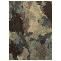 Oriental Weavers Evolution Abstract 6-Foot 7-Inch x 9-Foot 6-Inch Area Rug in Blue