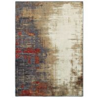 Oriental Weavers Evolution Abstract 6-Foot 7-Inch x 9-Foot 6-Inch Area Rug in Ivory