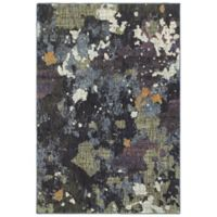 Oriental Weavers Evolution 3-Foot 3-Inch x 5-Foot 2-Inch Area Rug in Navy