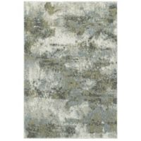 Oriental Weavers Evolution Impressions 3-Foot 3-Inch x 5-Foot 2-Inch Area Rug in Blue