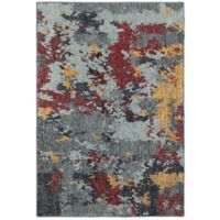 Oriental Weavers Evolution Impressions 3-Foot 3-Inch x 5-Foot 2-Inch Area Rug in Blue/Red