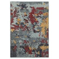 Oriental Weavers Evolution Impressions 5-Foot 3-Inch x 7-Foot 3-Inch Area Rug in Blue/Red
