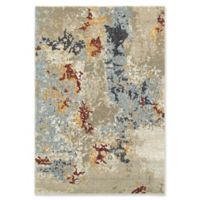 Oriental Weavers Evolution Floral Impressions 5-Foot 3-Inch x 7-Foot 3-Inch Area Rug in Beige
