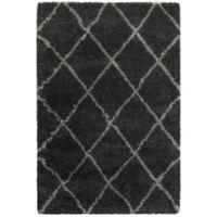 Oriental Weavers Henderson 6-Foot 7-Inch x 9-Foot 6-Inch Area Rug in Charcoal