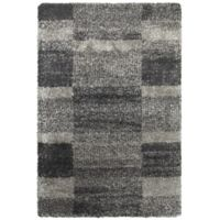 Oriental Weavers Henderson Geometric 9-Foot 10-Inch x 12-Foot 10-Inch Shag Area Rug in Grey