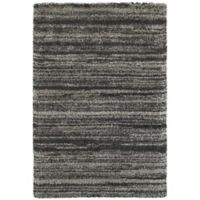 Oriental Weavers Henderson Striped 6-Foot 7-Inch x 9-Foot 6-Inch Area Rug in Grey