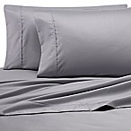 Heartland® Homegrown™ 500-Thread-Count Cotton Wrinkle-Free Queen Sheet Set in Grey