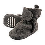 Hudson Baby® Size 0-6M Fleece Scooties Sock in Charcoal