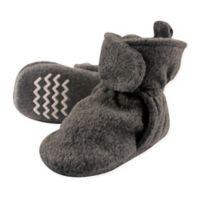 Hudson Baby® Size 6-12M Fleece Scooties Sock in Charcoal