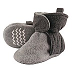 Hudson Baby® Size 0-6M Fleece Lined Scooties in Charcoal/Grey