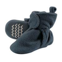 Hudson Baby® Size 6-12M Fleece Scooties Sock in Light Blue