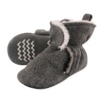 Hudson Baby Size 12-18M Sherpa Lined Scooties in Heather Charcoal