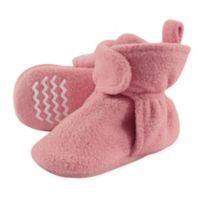 Hudson Baby® Size 12-18M Fleece Scooties Sock in Strawberry