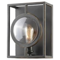 Filament Design Carrie 1-Light Wall Sconce in Bronze