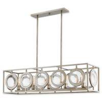 Filament Design Carrie Lydia 5-Light Pendant Light in Antique Silver