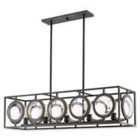 Filament Design Carrie Lydia 5-Light Pendant Light in Bronze
