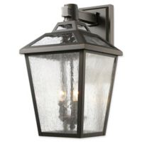 Filament Design Bayla Large Wall-Mount Outdoor Lantern in Oil Rubbed Bronze